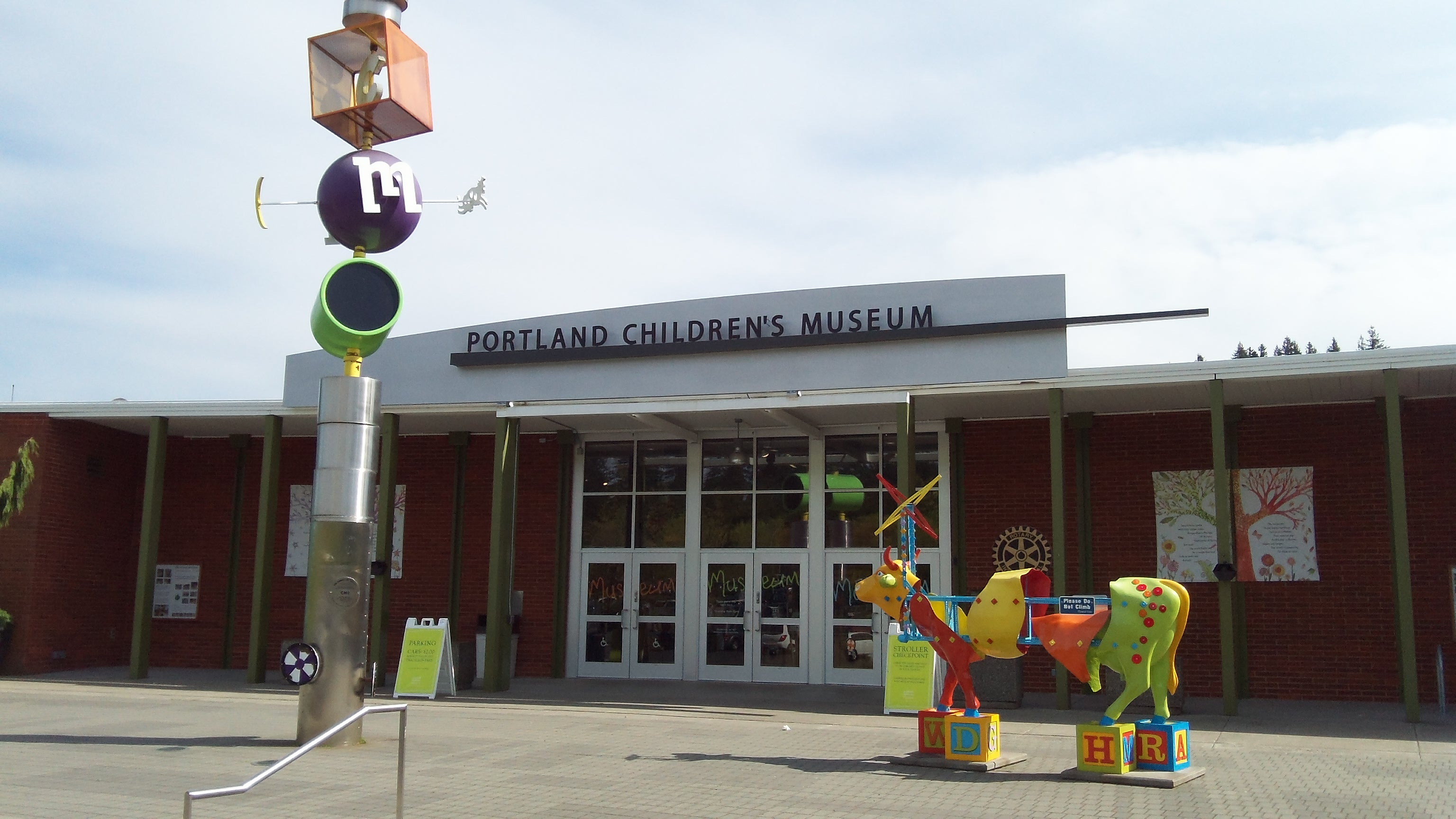 Southwest Portland Park - The Portland Children's Museum at Washington Park