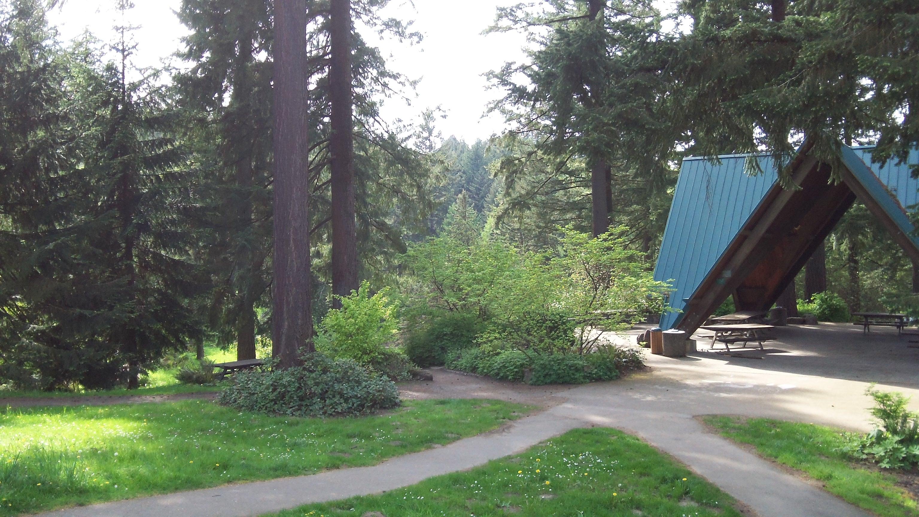 Southwest Portland Park - The Hoyt Arboretum at Washington Park