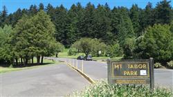 Entrance to Mt. Tabor
